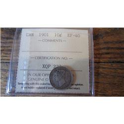 1901 Canada 10 Cent
