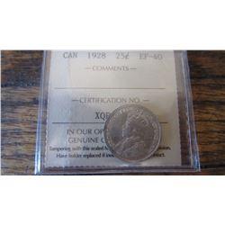 1928 Canada 25 Cent