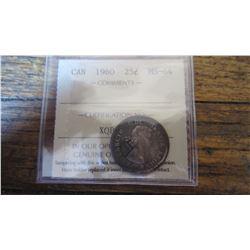 1960 Canada 25 Cent