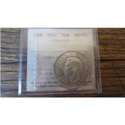 1941 Canada 50 Cent