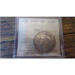 1943 Canada 50 Cent