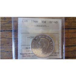 1946 Canada 50 Cent
