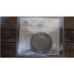 1946 Canada 50 Cent RARE VARIETY