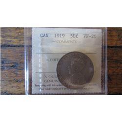 1919 Canada 50 Cent