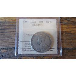 1931 Canada 50 Cent