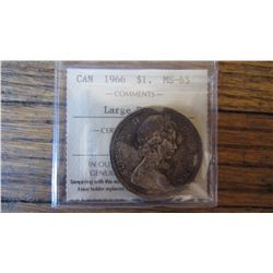 1966 Canada 1 Dollar