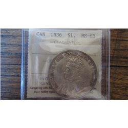 1936 Canada 1 Dollar