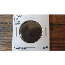 1820 USA Large Cent