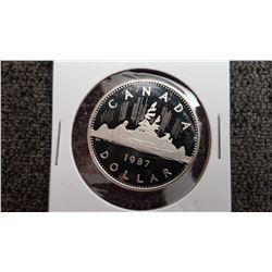 1987 Canada 1 Dollar