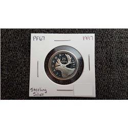 1997 Canada 25 Cent