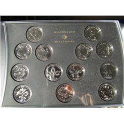 2000 Canada Coin Set
