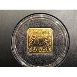 2006 Canada 3 Dollar Gold Coin