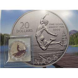 2014 Canada 20 Dollar Coin