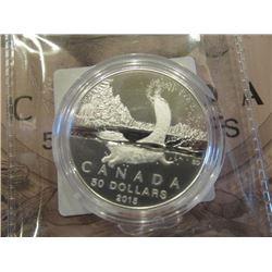 2015 Canada 50 Dollar Coin