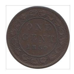 1859 Canada 1 Cent