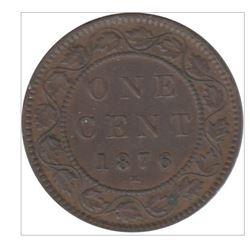 1876-H Canada 1 Cent