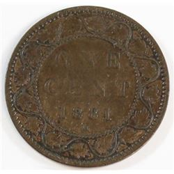 1881-H Canada 1 Cent