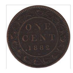 1882-H Canada 1 Cent