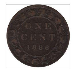 1886 Canada 1 Cent