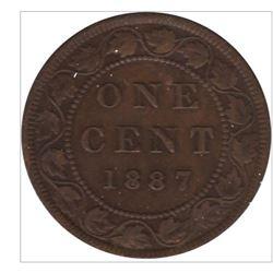 1887 Canada 1 Cent
