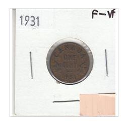 1931 Canada 1 Cent