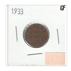 1933 Canada 1 Cent