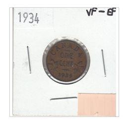 1934 Canada 1 Cent