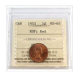 1953 Canada 1 Cent