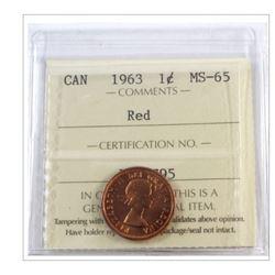 1963 Canada 1 Cent