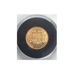 1913 Canada 5 Dollar Gold Coin