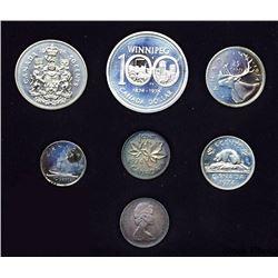 1974 Canada Coin Set