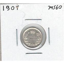 1907 Canada 5 Cent