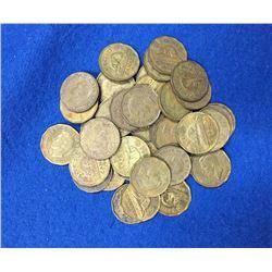 1942 Canada 5 Cent Set