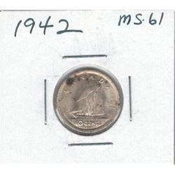 1942 Canada 10 Cent