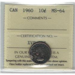 1960 Canada 10 Cent