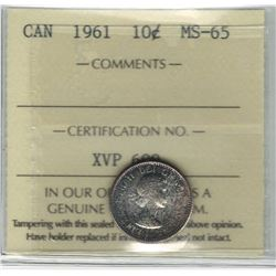1961 Canada 10 Cent