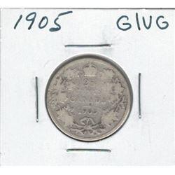 1905 Canada 25 Cent