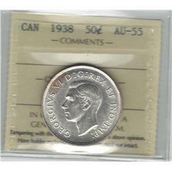 1938 Canada 50 Cent