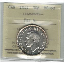 1944 Canada 50 Cent