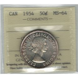 1954 Canada 50 Cent