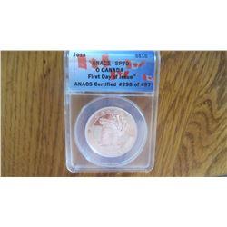 2013 Canada 10 Dollar Coin
