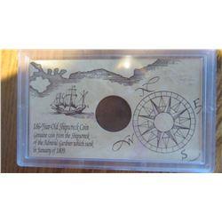 Ship Wreck Coin