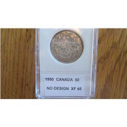 1950 Canada 50 Cent