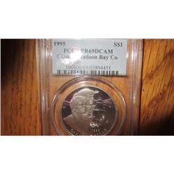 1995 Canada 1 Dollar Coin