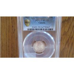 1930 Canada 10 Cent