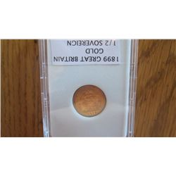 1899 Great Britain Gold Coin