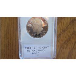 1983-S USA 50 Cent
