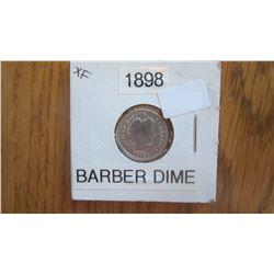 1898 USA 10 Cent