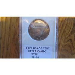 1979 USA 50 Cent