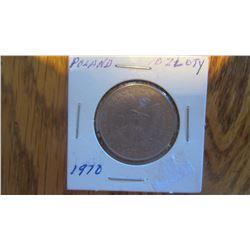1970 Poland 10 Zloty